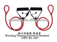 Wresting training tubing exerciser wighted standard