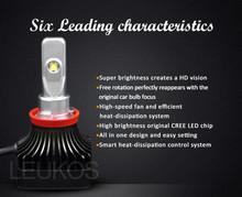 led the fog lamps / led car headlight / led light car With Emark Certificates