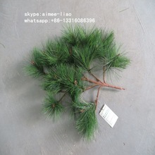 Q122901 China supplier plastic tree branches cheap artificial pine branches