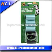 Fabric Dog Waste Bag Dispenser with 3pcs dog poop bags