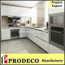L shape modular kitchen designs with Price
