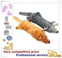 Factory Promotion Custom Made Plush Pet Products fake fur sleeping dog