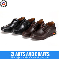 calf leather elevated shoes for men