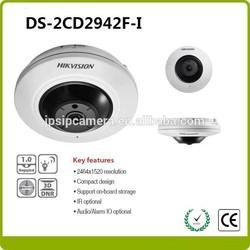 Hikvision CCTV products 4MP mini fisheye camera DS-2CD2942F-I 4MP network camera