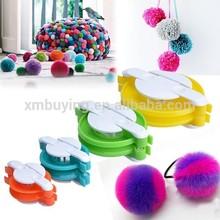 8pcs 4 Size Pompom Maker Fluff Ball Weaver Needle Craft Knitting Wool Tool