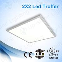 meanwell driver factory price 0-10v dimming 2x2ft dlc led panel light 5000k UL,Ultra Slim,Edge-lit, LM80 SMD LED, LM79 tested