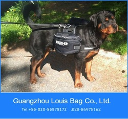 waterproof fabric pet backpack for dog