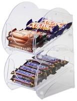 Clear 2 tier confectionary merchandiser 220mm(w) x 170mm(d) x 340mmIh)