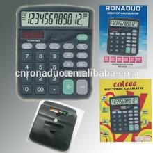 CT-837 desktop calculator big display electronic calculator solar power calculator