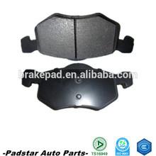brake pad factory TS16949 top quality ceramic formula car brake pad with 3 M paper shim 001 420 95 20 RR W202/W124/W210