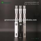 Hot Selling Huge Vapor E Cigarette android USB battery GS PTS01 Micro 5-Pin new vapor high quality vapor flavor wholesale