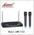 Lane*lwm- 1133 profissional de venda quente do microfone do transmissor de fm sem fio para mostrar/karaoke/reunião