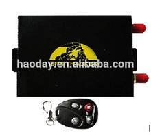 Vehicle fleet/logistics/vehicle rental tracker gps support camera tk105B central locking system, ARM/DISARM & Lock /Unlock
