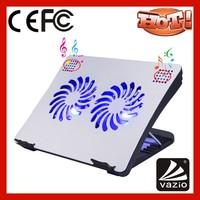 iDock N7 UK multifunctional portable large laptop cooling pads with speaker