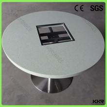 Kingkonree new design hot pot table for restaurant