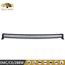 """2013 new waterproof 288w led light bar 50"""" for Off road ATV,SUV,4WD cars"""