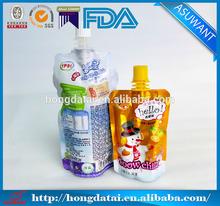 food grade beverage packing bag for juice packing