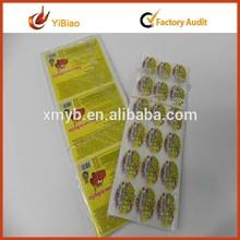 Donut Printing Epoxy Sticker, Rhinestone Transparent Epoxy Sticker, Hot Stamp Epoxy Sticker