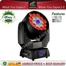 Versatile 19x12.8w led moving head wash light copy robe robin 600