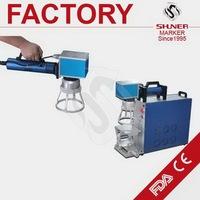 Modern top sell portable laser marking machine on keys