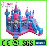 Hot sale princess castle play tent / kids bouncy castle