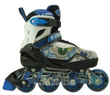 roller adjustable skates straps on skate glider inline skate