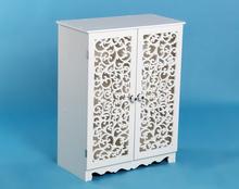 Cheap furniture custom made corner large shoe cabinet