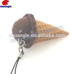 Fake Food Keychain,Artificial Food Model, Fake Food Handicraft