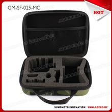 2015 factroy price Case with EVA Foam Padding travel handbag case for gopros camera