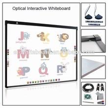 Factory supply 78'' to120'' EM / IR / Optical digital interactive glass board