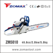 wood tool 50cc ZM5030 chain saw 5200 witn iproved lubrication system
