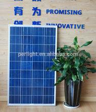 Top supplier high quality sunpower 100W Poly Solar Panel, High efficiecey poly solar module 100W, A gread poly 100W solar panel