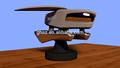 hao guo 2015 juguete costumbre de nave espacial