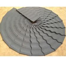 black and white shingle tile light grey slate sand coated steel roofing tiles