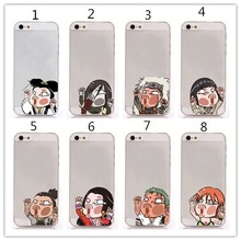 OEM/ODM Phone Cover PC Hard Shell Ultra Thin Cartoon Characters Hit The Glass Back Cover Case For iPhone 6 Plus 5.5 Inch