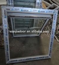 WANJIA upvc window profile manufacturers/upvc casement window