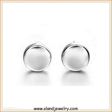 custom wholesale tiny sterling silver earring post,stud earrings Jewelry Handmade