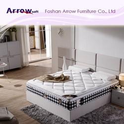 modern king size latex mattress bedroom furniture