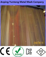 2015 hot sale factory directly made curtain mesh with golden and silver colour images