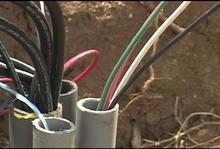 pvc insulated electric wire copper wire