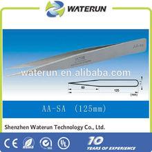 vetus high precision tweezers with sharp straight/curved point tweezers