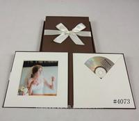 high quality handmade cd case wedding dvd box