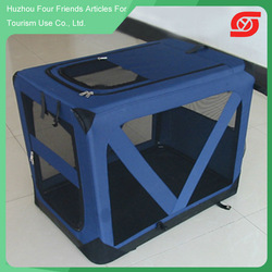 2015 New arrival top selling customed mesh aluminum dog cage
