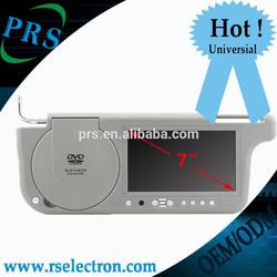 car sunvisor monitor 7 inch tft lcd sunvisor monitor car dvd usage