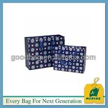 regali di Natale sacchetto di carta di arte, MJ-PP0934-Y, Guangzhou Manufacturer