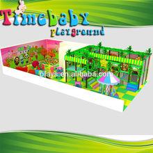 Colorful ocean design for kids interior playhouse