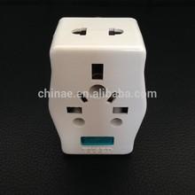 250V 13A LED Indicator Japan Travel Plug Adapter