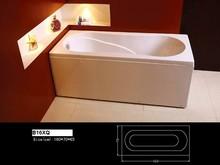 /B16XQ Hot Sale Massage Bathtub Plastic Bathtub for Adult
