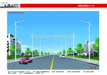 CE CCC EACC TUV proved IP 65 solar power solar street light solar outdoor light street light pole price per watt solar panels