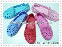 Date de haute qualité EVA obstruer la livraison échantillon chaussures